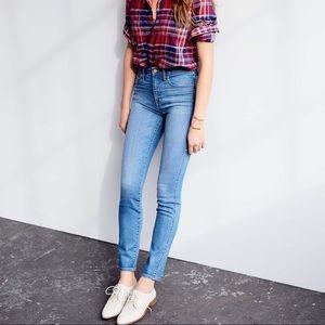 Madewell 10'' High Riser Skinny Skinny Jeans
